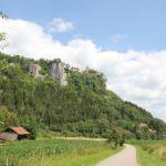 Donau Radweg Schloss Werenwag