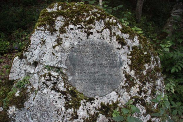 Gedenkstein Mühle Bronnen