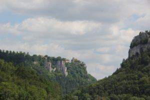 Schloss Werenwag Bergplateau