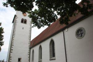 Turm und Langhaus Kirche Owingen