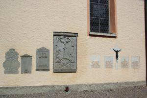 Gedenksteine Kirche Eriskirch