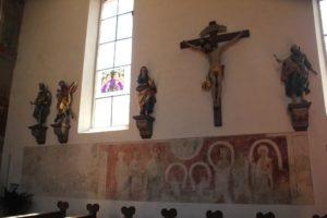 Gotische Wandmalerei Kirche Eriskirch
