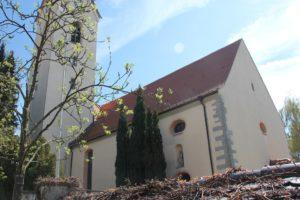 Langhaus Kirche Eriskirch