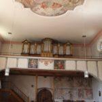 Orgel Tribuene Kirche Eriskirch