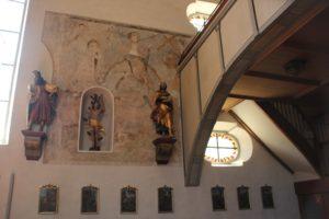 Wandmalerei Kirche Eriskirch