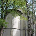 Rundes Ende der Lutherkirche Konstanz