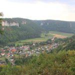 Ausblick auf Hausen im Tal