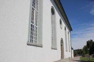 Langhaus Kirche Gruenkraut
