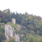 Wachturm Burgruine Hausen im Tal