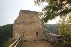 Wand Burgruine Hausen im Tal