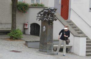 Spuckbrunnen In Wangen im Allgaeu