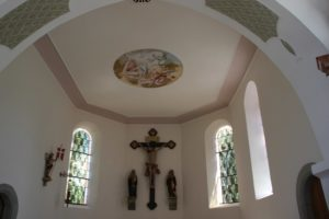 Deckengemaelde Apsis Kirche St Baptist Danketsweiler