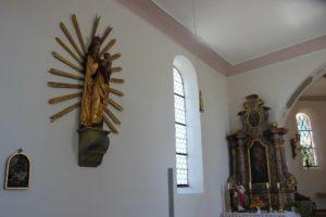 Kunstwerke Kirche St Baptist Danketsweiler