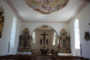 Seitenaltaere Kirche St Baptist Danketsweiler