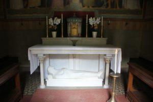 Altar Mauruskapelle Beuron