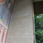 Inschrift Mauruskapelle Beuron