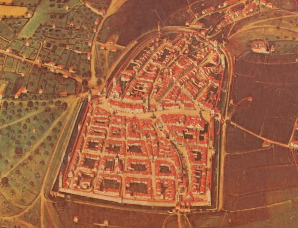 Karte Ravensburg 1625
