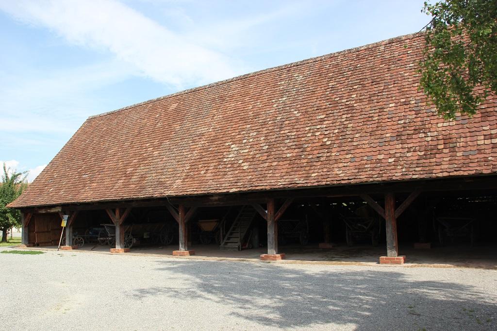 Stall des 17 Jahrhunderts im Bauernmuseum Kuernbach
