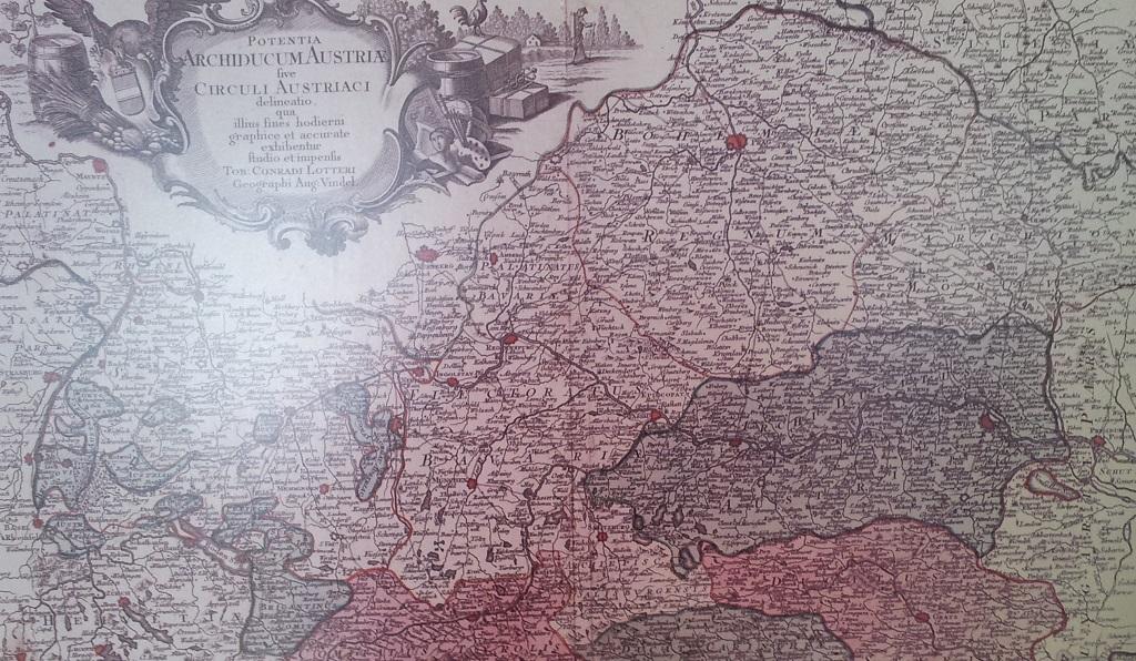 Sueddeutschland Oesterreich zur Herrschaft der Habsburger