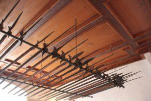 Waffen des 17 Jahrhunderts in der Waldburg