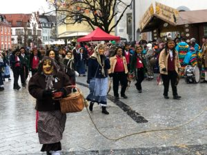14 Narrensprung Ravensburg 2019