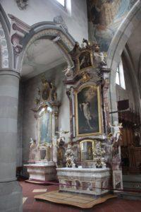 Barocker Seitenaltar Kirche St Martin