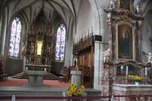 Chor und Apsis Kirche St Martin