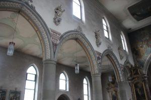 Gotische Spitzboegen Kirche St Martin