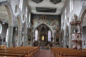 Innenraum Kirche St Martin