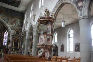 Kanzel Kirche St Martin
