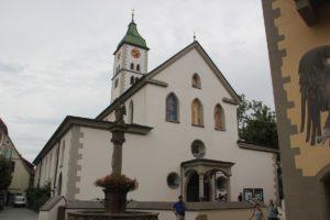 Kirche St Martin Wangen im Allgaeu
