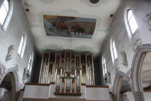 Orgel St Martin Wangen