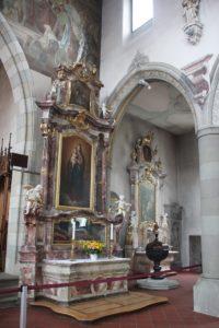Seitanaltar Kirche St Martin