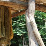 Textilien in verschiedenen Farben