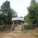 Zaun zur Holzkirche Campus Galli