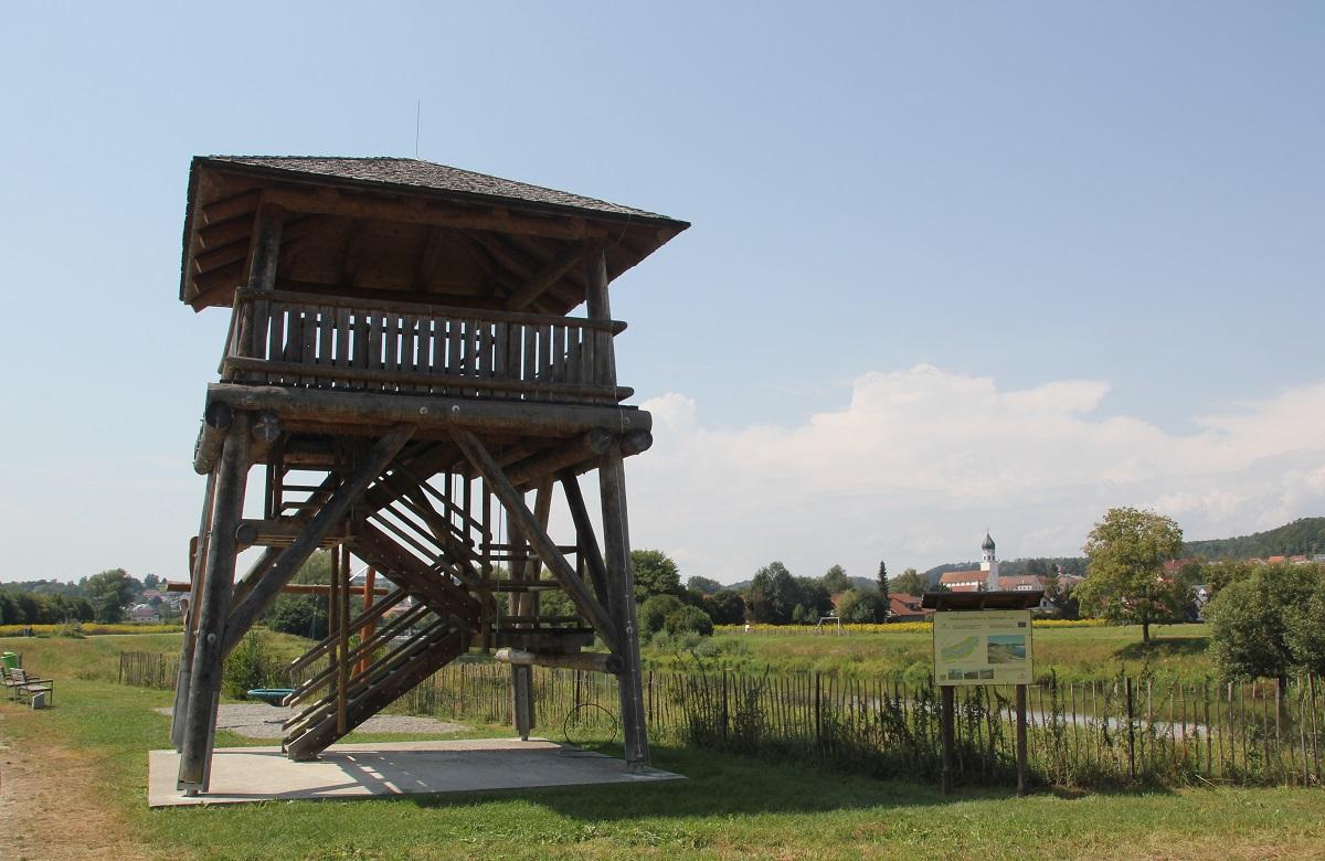 Aussichtsturm Donau bei Sigmaringen
