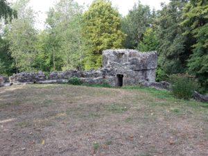 Burgturm Burgruine Ratzenried