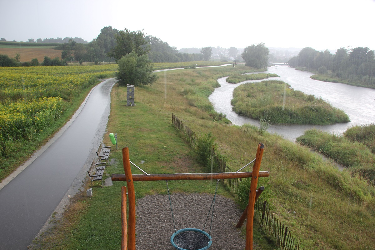 Renaturierung der Donau bei Sigmaringen