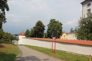 Runder Eckturm Schloss Messkirch