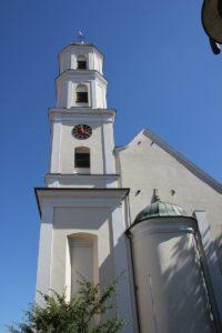 Turm St Martin Kirche Langenargen