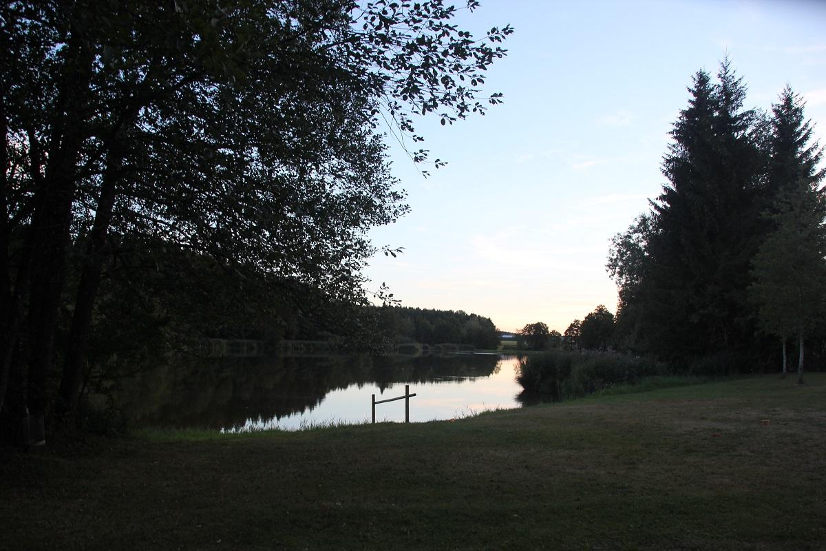 Wassereinstieg Holzmuehleweiher Vogt
