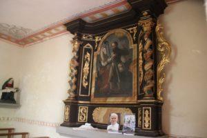 Altar St. Wendelinkapelle Ramsberg