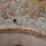 Jahreszahl im Eingangsbogen der St Wendelinskapelle Ramsberg