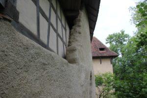 Mauerreste Burg Ramsberg Rueckseite