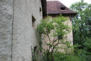 Ramsberg Burganlage Rueckseite