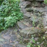 Stufen der Burgruine Ramsberg