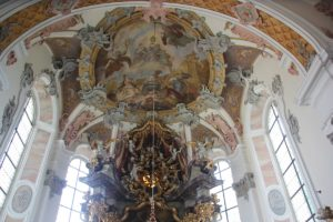 Apsis innen Kloster Wald