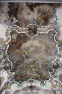 Deckengemaelde Langhaus Kloster Wald