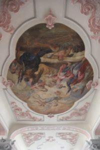 Deckenstuck und Malerei Kloster Wald