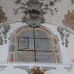 Gemaltes Fenster Kloster Wald